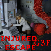 Injured Escape For G3F
