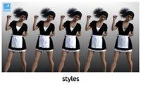 lightBLUE-dFORCE-french-maid-styles.jpg