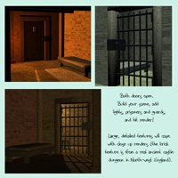 Opening doors and detailed textures