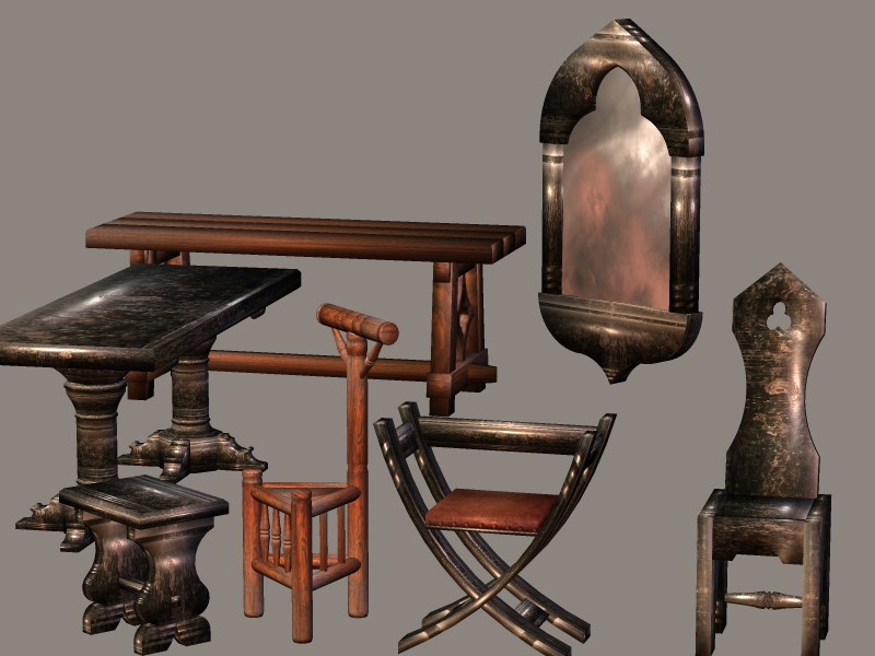 medieval furniture history 2