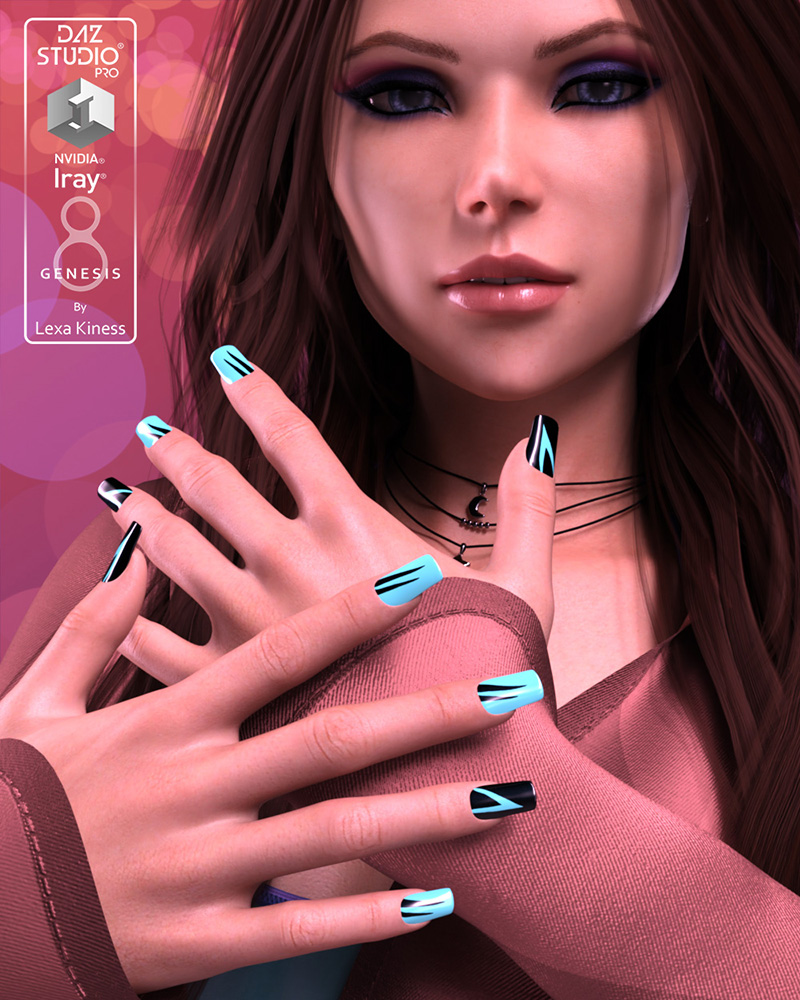 Dyeable Nail Designs