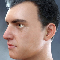 Face Shape Morphs MR For Genesis 8 Male