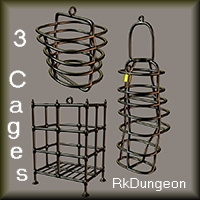Three Cages