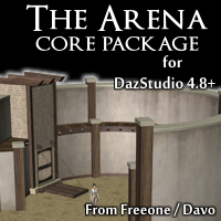 Arena Core Pack For Daz Studio 4.8+