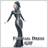 Fishtail Dress G3F