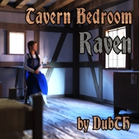 Tavern Bedroom: Raven