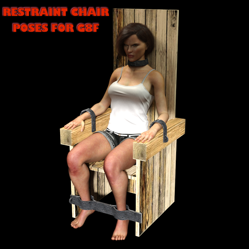 Legacy Dendras Restraint Chair Poses For Daz Studio Genesis 8 Female