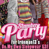 Slumber Party 4 On My Own Sleepwear G3F