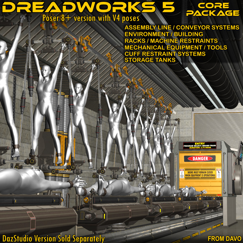 """Dreadworks 5"" Core Package Poser 8+"