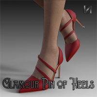 Glamour Pin of Heels 05