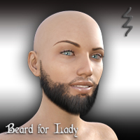 Beard For Lady G8F