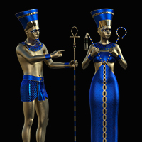 Ancient Pharaoh and Queen AddOn Pack