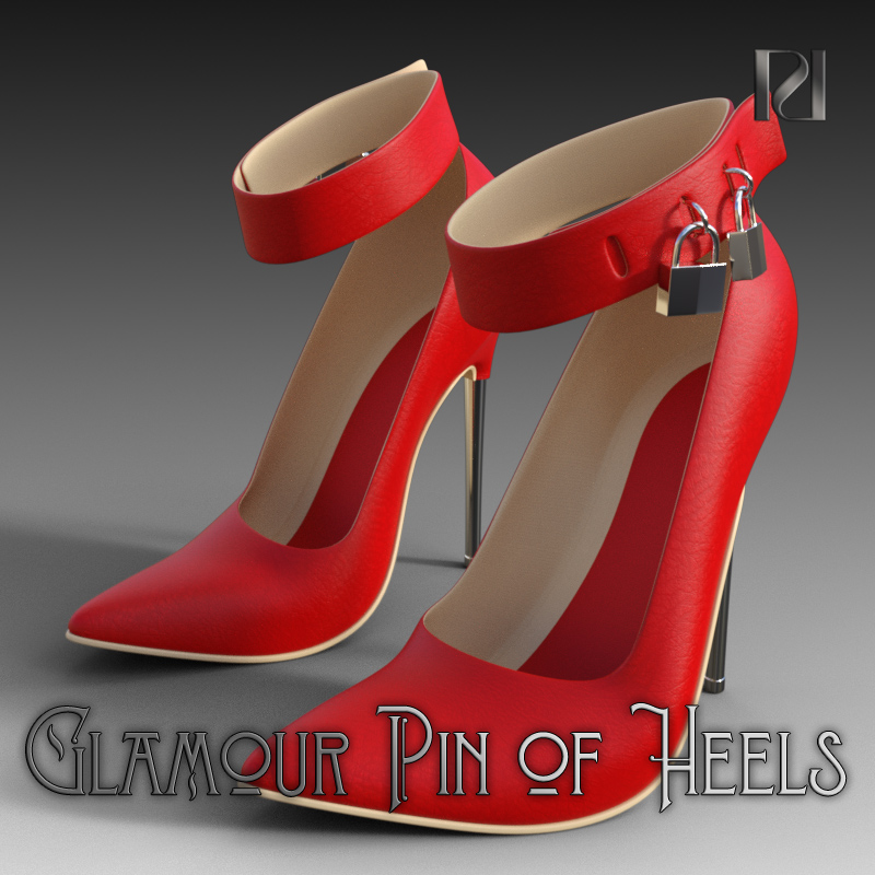 Glamour Pin Of Heels 01