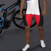 Bike Wear And Wetsuit For Super Bodysuit For Genesis 3 Male