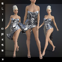 dForce Slit Dress III