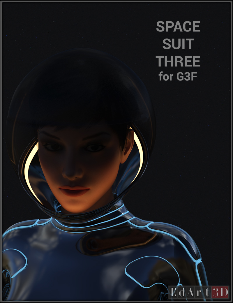 Space Suit Three For G3F
