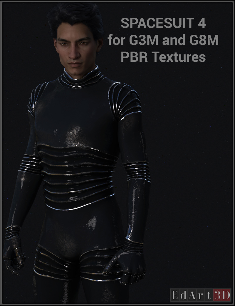 Space Suit Four For G3M & G8M PBR Textures