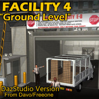 Facility 4 Ground Level For DazStudio 4.8+