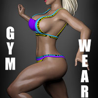 Gym Wear + Poses For G8f
