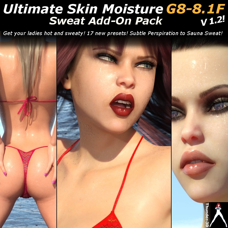 Ultimate Skin Moisture v1.2: Sweat ADD-ON G8-8.1F