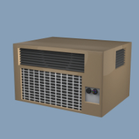 AC-Unit Object 3D Model
