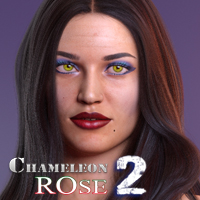 Chameleon ROse2 for Genesis 8 Female