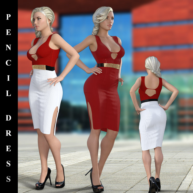 Pencil Dress For G8F