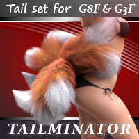 Tailminator For Genesis 3 And Genesis 8 Female