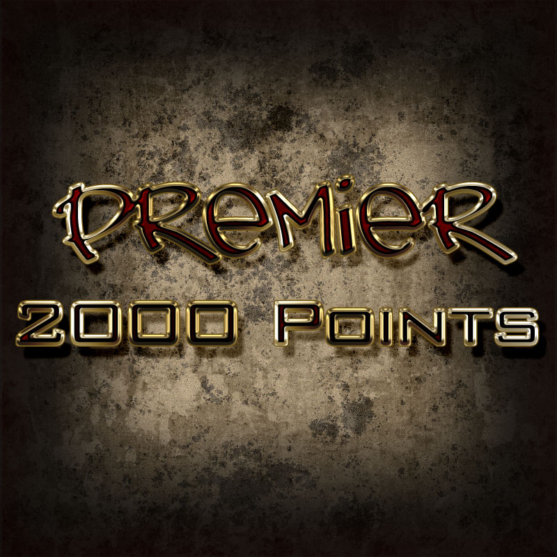 Premier 2000 Point Pack