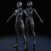 Full Body Suit Meshes For G8F - Content Creator MR