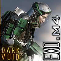 Dark Void Exo Suit For M4