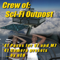 Crew Of: Sci-Fi Outpost Main Floor