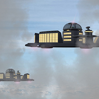 Floating SciFi City 1
