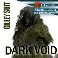 ArtDev DarkVoid Exploration Unit Gilley Suit For G3 Male