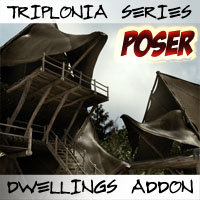 Triplonia Dwellings Construction Set Add-On Poser