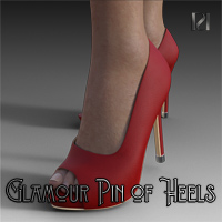 Glamour Pin Of Heels 06