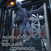 Alien Exile For Solaris Corridor