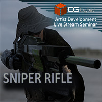 ArtDev DarkVoid Exploration Unit Sniper Rifle