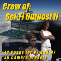Crew Of: Sci-Fi Outpost Upper Floor