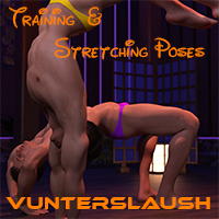 Training And Stretching Poses
