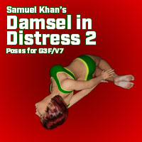 Damsels In Distress Poses For V7/G3F Vol. 2