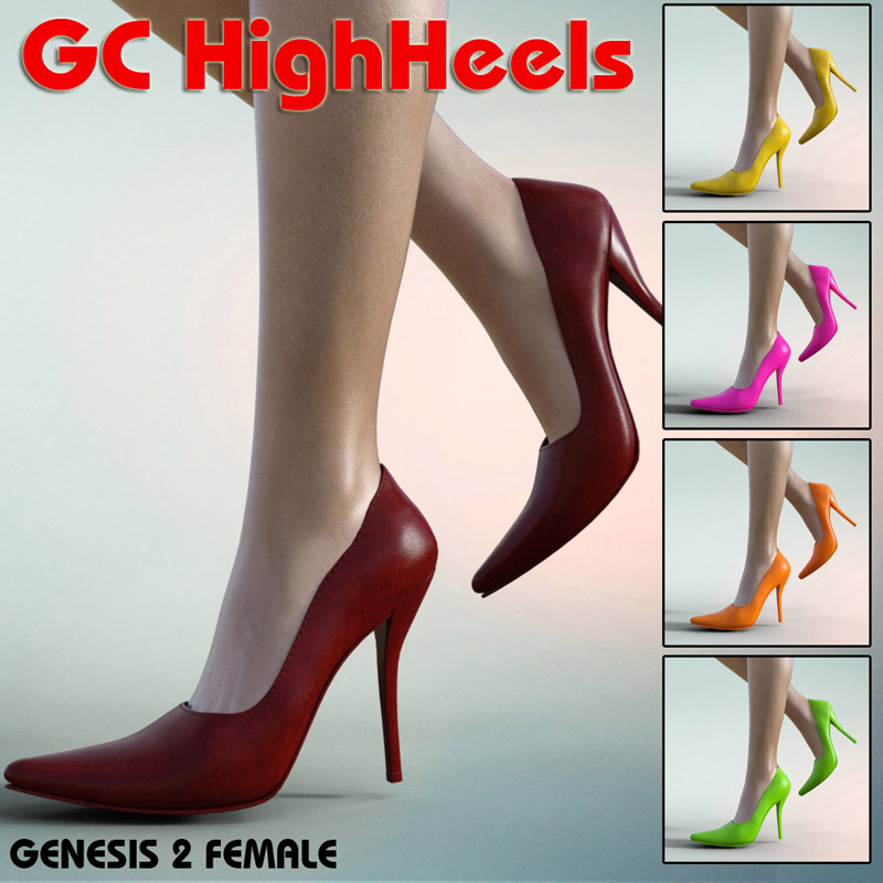GC High Heels For G2F