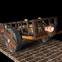 Legacy Dendras Slave Cart For Daz Studio