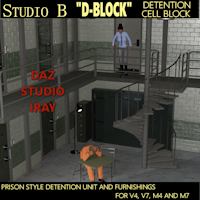 "Legacy Davo Studio B ""D-BLOCK"" Detention Cell Block"