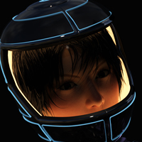 Space Helmet Two For G8F