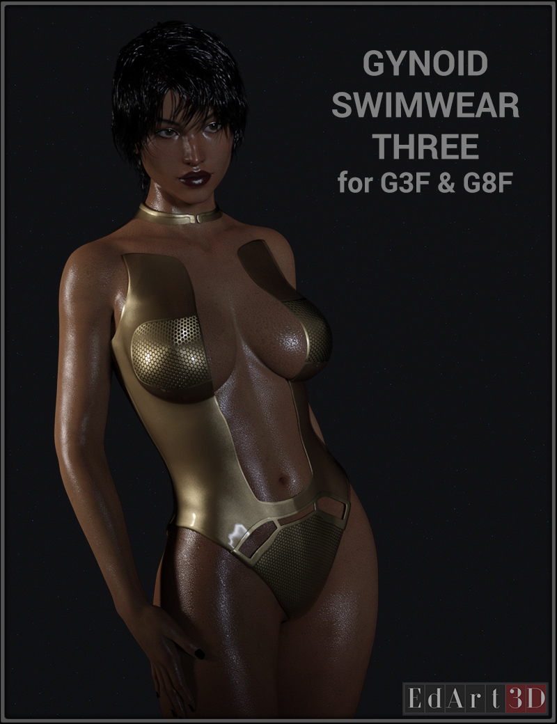Gynoid Swimwear Three For G3F And G8F