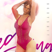 X-Fashion Lace Going out Bodysuit for Genesis 8 Female(s)