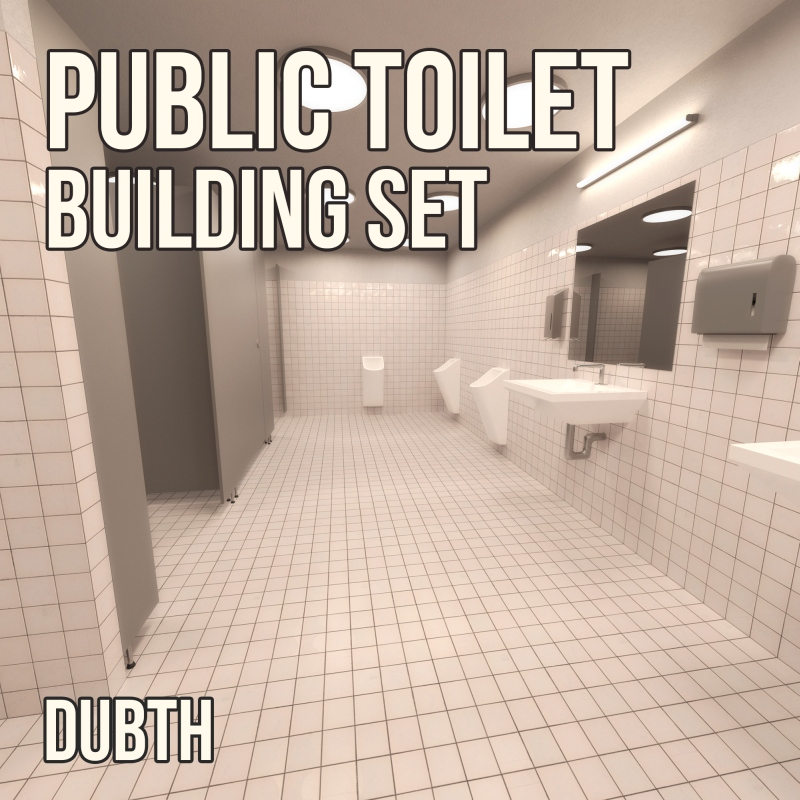 Public Toilet Construction Set