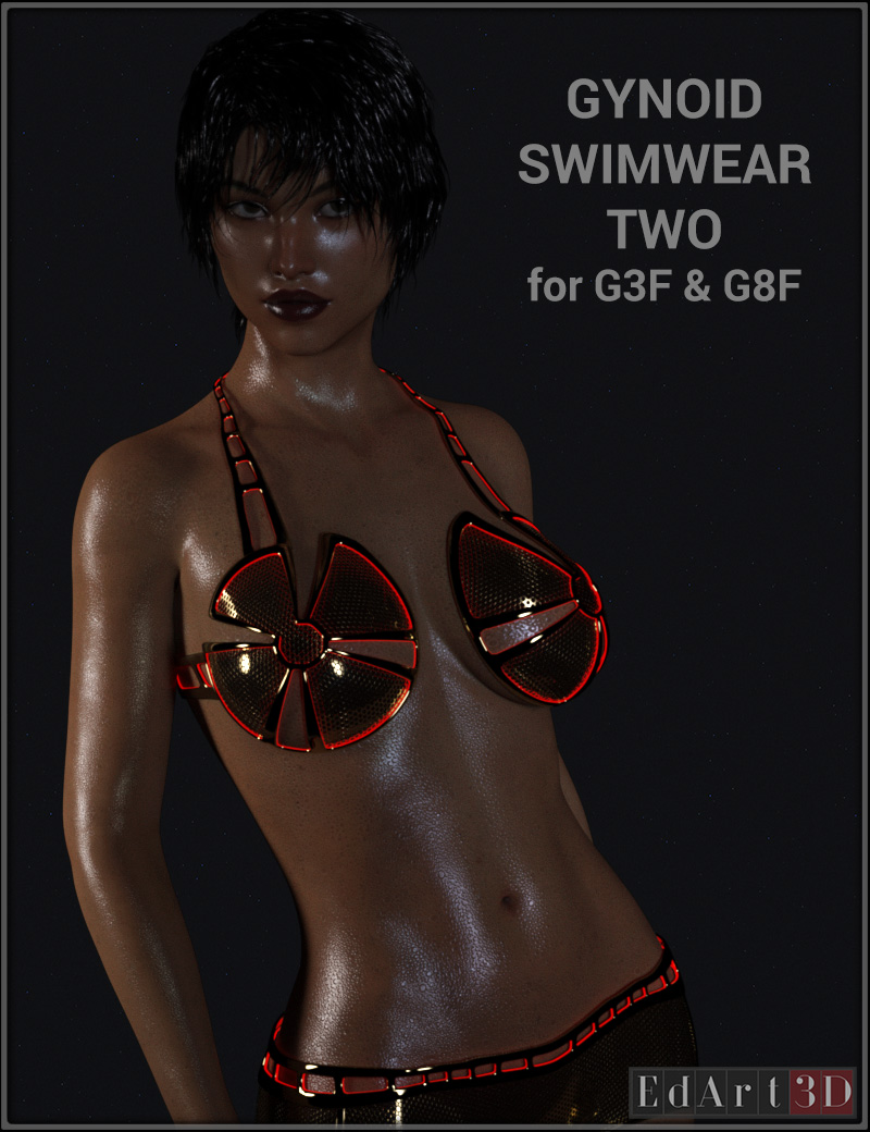 Gynoid Swimwear Two For G3F And G8F