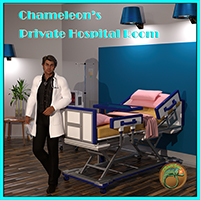 Chameleons Private Hospital Room